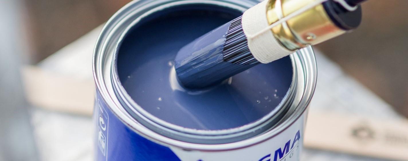 Hekwerk schilderen
